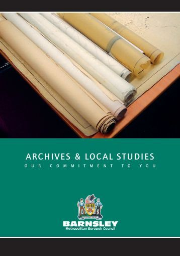 ARCHIVES & LOCAL STUDIES - Barnsley Council Online
