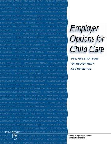 Employer Options PM - Better Kid Care - Pennsylvania State University