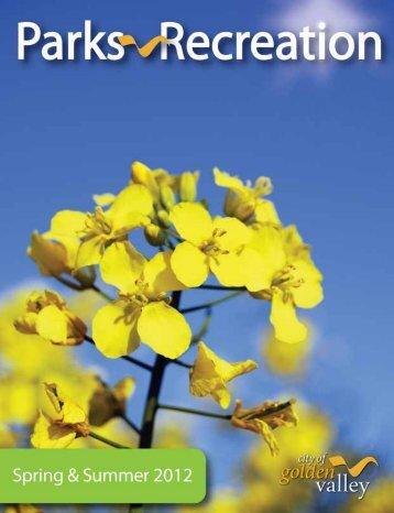 Recreation Catalog - Spring/Summer 2012 - City of Golden Valley