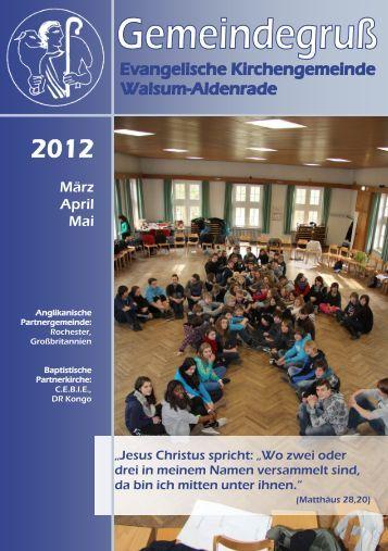 2012 - Ev. Kirchengemeinde Walsum-Aldenrade