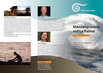 Männerpräsenz auf La Palma - beruehrt-sein.eu