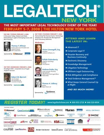 NEW YORK - LegalTech