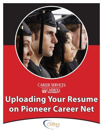 How to upload your resume