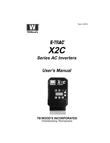 Series AC Inverters User's Manual