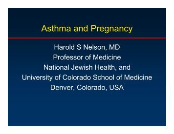 asthma during pregnancy essay Maternal smoking during pregnancy is a well-established and modifiable environmental risk factor for infant respiratory viral infection and childhood asthma (1, 2) in utero exposure to maternal smoking influences the development of the fetal respiratory system by impairing an infant's immune system and lung development (3–5.
