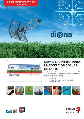 Antena TDT Serie Di@na - Fagor Electrónica