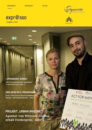 expr@sso - Universität Witten/Herdecke