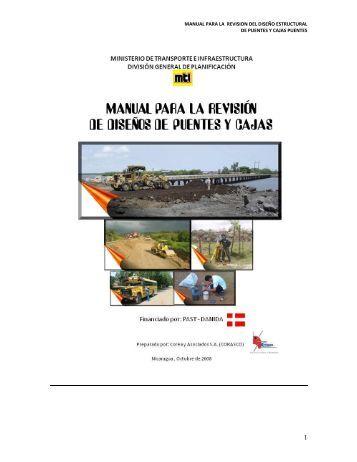 Manual Diseño Estructural de Puentes carreteros y Cajas de ...