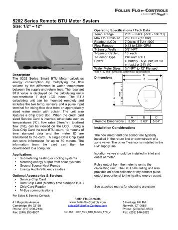 SYSTEM-10 BTU METER Johnson Controls N2 Version