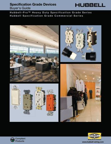 Specification Grade Devices - Hubbell Wiring Device-Kellems