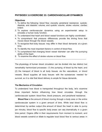 physioex 9 0 exercise 7 View homework help - physioex (exercise 5) from biol 2402 at austin community college review sheet physioex 90 exercise ybsw who lab time/date 7-127] '7 cardiovascular dynamics w studying the.