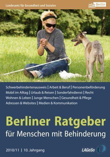 Berliner Ratgeber - Trägerwerk Soziale Dienste in Berlin und ...