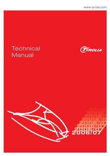 Technical Manual - Tyrolia