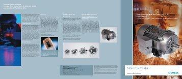 Motores GP100 y Gp100+ - Industria de Siemens