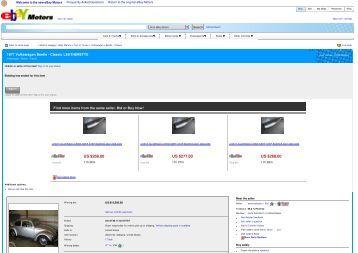 Aero Parts Spoilers - Keith Martin's Collector Car Price Tracker