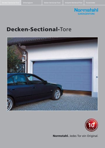 Decken-Sectional-Tore - schaller+brunner GmbH in Reichertshausen