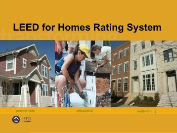 Section 1 unipol student homes university of leeds for Leed for homes rating system