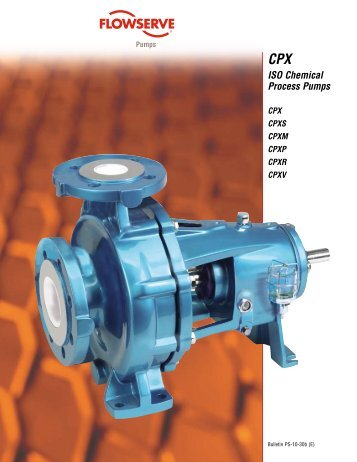 CPX ISO Chemical Process Pumps - TS-Pumpentechnik GmbH