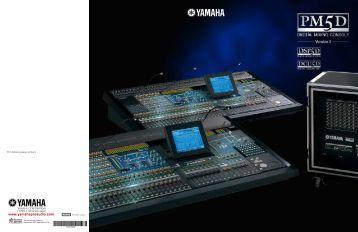 Digital heart analog sou for Yamaha commercial audio