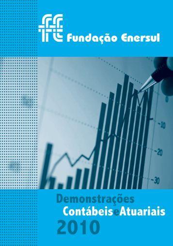 Inf. Dem. Contábeis e Atuariais 2010 - Fundação Enersul