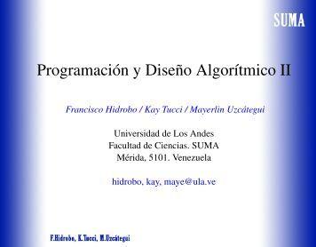 run() finalizado Nuevo Muere - Web del Profesor - ULA