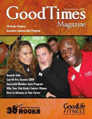 GoodTimes Magazine - GoodLife Fitness