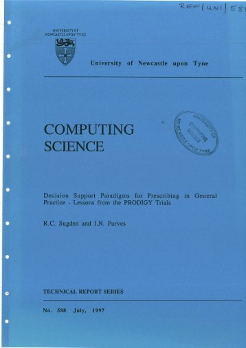 COMPUTING SCIENCE