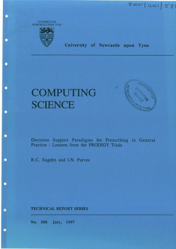 COMPUTING SCIENCE