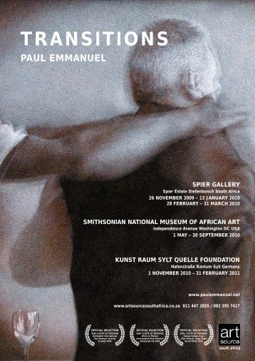 Art Source press release [PDF] - Paul Emmanuel