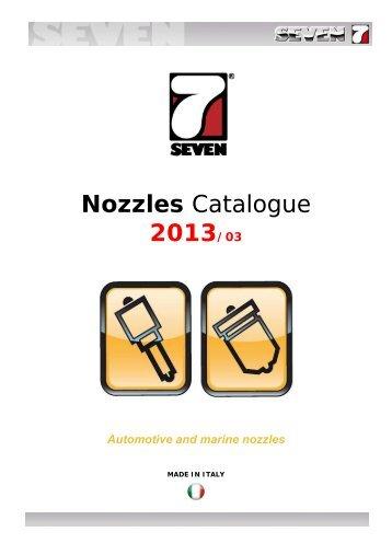Nozzles Catalogue 2013-03 - SEVEN DIESEL SpA