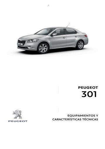 Especificación Técnica - Peugeot Chile