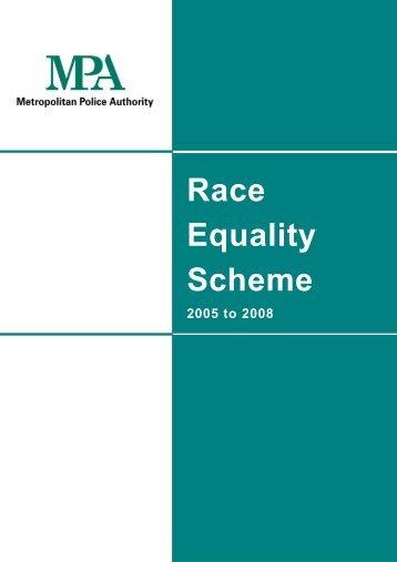 MPA Race Equality Scheme 2005-2008