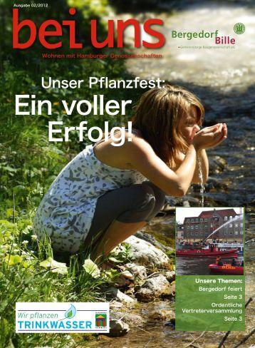 Ein voller Erfolg! - Baugenossenschaft Bergedorf-Bille