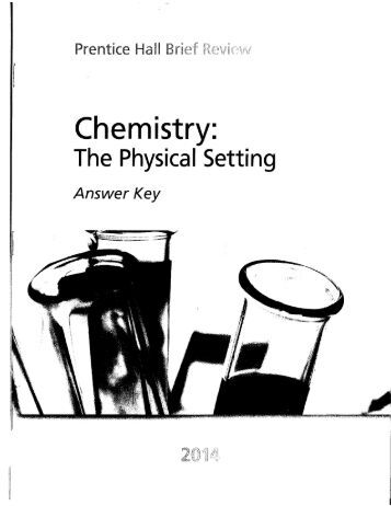 Reference Tables for Physical Setting/CHEMISTRY