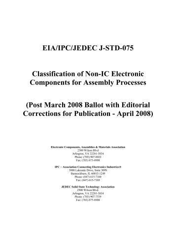 IPC JEDEC J-STDB.1 PDF DOWNLOAD