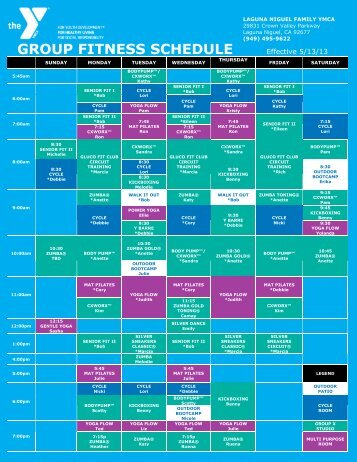 Ymca workout schedule - Palo alto ymca swimming pool schedule ...
