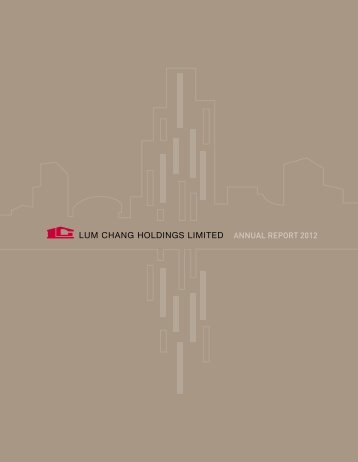 notes to the financial statements - Lum Chang