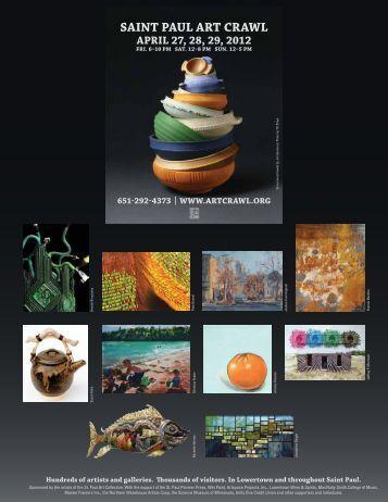 Saint Paul art Crawl aPril 27, 28, 29, 2012