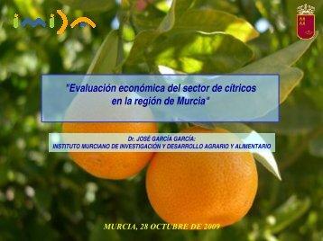 Evaluación Económica del sector de cítricos - imida