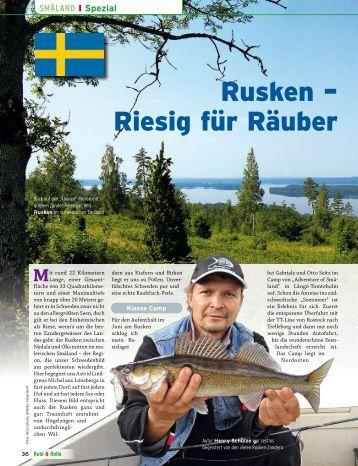 Angel Reisen Schweden: Angel Urlaub Smaland am Zander See ...