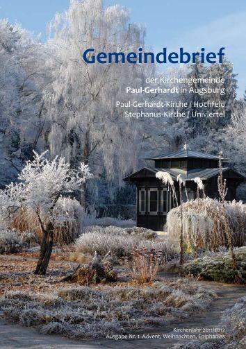 Gemeindebrief - Kirchengemeinde • Paul-Gerhardt