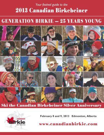 PDF Downloadable version - Canadian Birkebeiner Ski Festival
