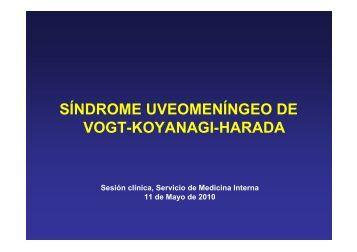 vogt-koyanagi-harada - EXTRANET - Hospital Universitario Cruces