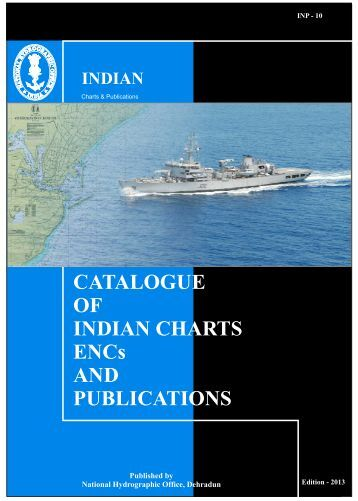 View Chart Catalogue - Indian Naval Hydrographic Department