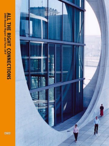 2006 Annual Report and Form 20-F ALL THE ... - Jaarverslag.com