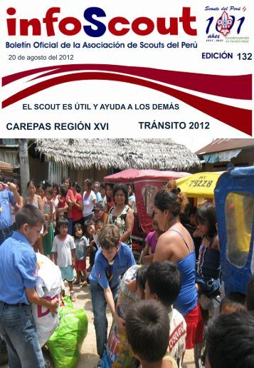 132 CAREPAS REGIÓN XVI TRÁNSITO 2012 - Scouts del Perú