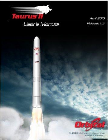Taurus II User's Guide - NASA Earth Science Decadal Survey Studies