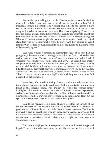 william shakespeares 18th and 55th sonnets essay Essay on william shakespeare's 18th and 55th sonnets 527 words | 3 pages william shakespeare's 18th and 55th sonnets both william shakespeare's 18th and 55th sonnet's are full and complete examples of poetry at its best, and, while studying shakespeare's form is very important, it is equally so to look at the content and even further deep .