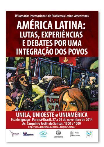 PROGRAMA FINAL JORNADAS PROBLEMAS LATINOAMERICANOS  2014-2