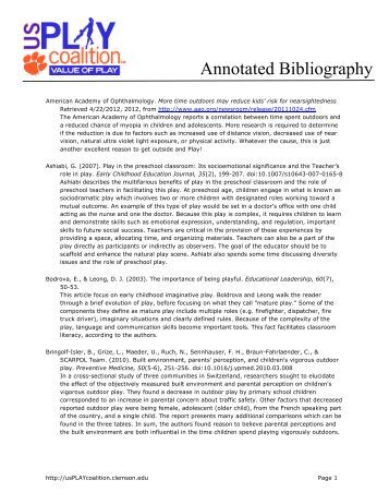 MAL Annotated Bibliography for Sudan  pdf    National Council on     SlideShare